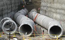 Catskill-Delaware Ultraviolet Disinfection Facility pipes