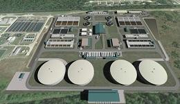 Northeast Water Purification Plant Expansion rendering