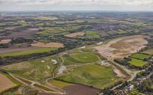 Aerial of Avenue Coking Works site