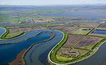 Aerial of San Francisco Bay-Delta estuary
